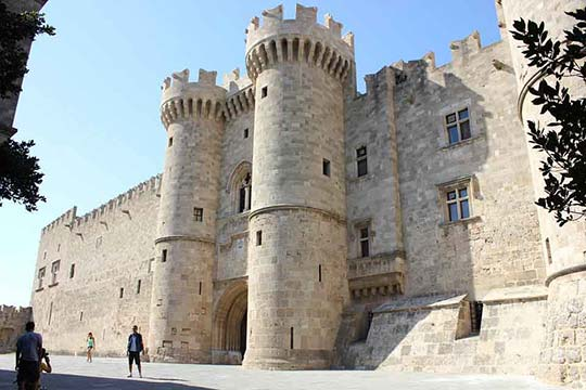 Rhodes, Palace of the Grand Master of the Knights of Rhodes